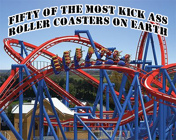 roller coaster head