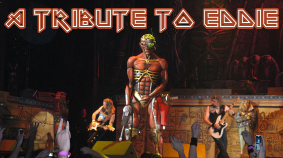 tribute eddie iron maiden
