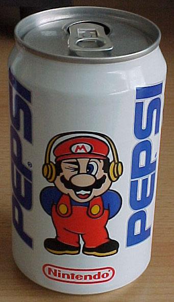 Super Mario Pepsi Can 1