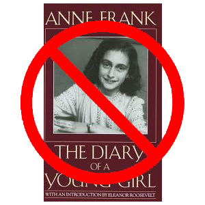 anne frank banned