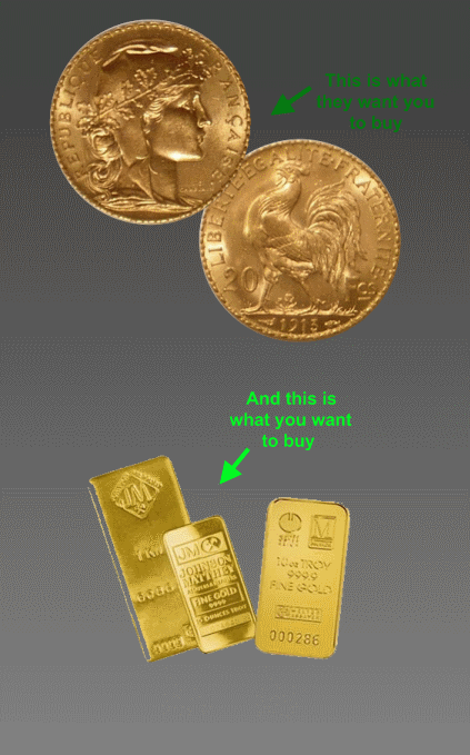 coins vs bullion
