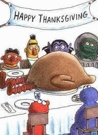 Thanksgiving Sesame Street