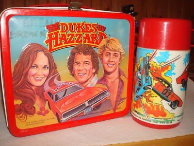 dukes of hazzard metal lunch box