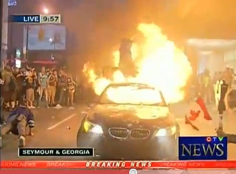 vancouver riot