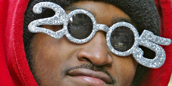 New Years Glasses 2005