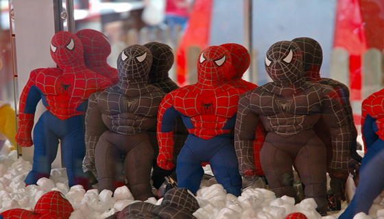 spiderman craneo