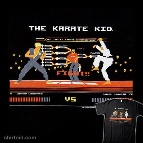 8 Bit Karate Kid