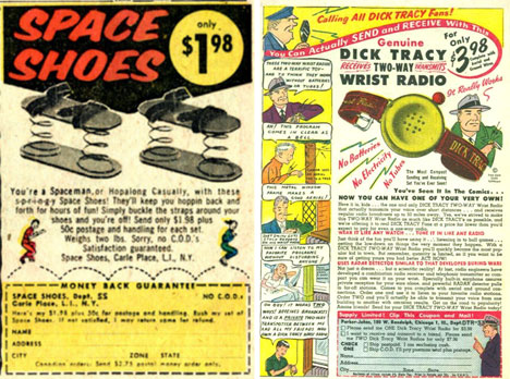 space shoes and dick tracy