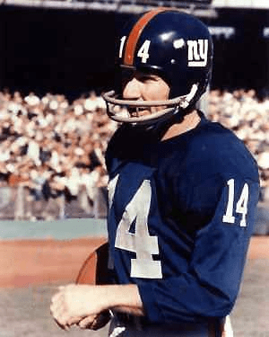 Y.A. Tittle New York Giants 505 Yards