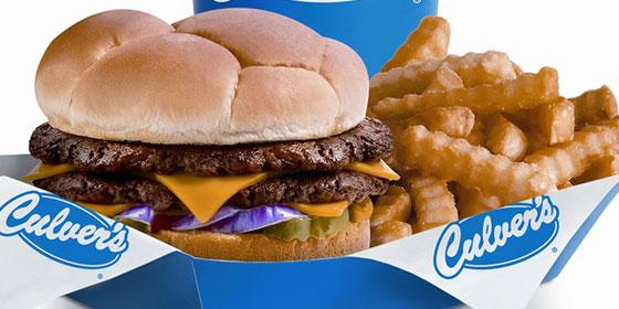 Culvers Burger