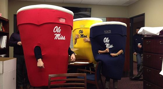 Ole Miss Solo Cups
