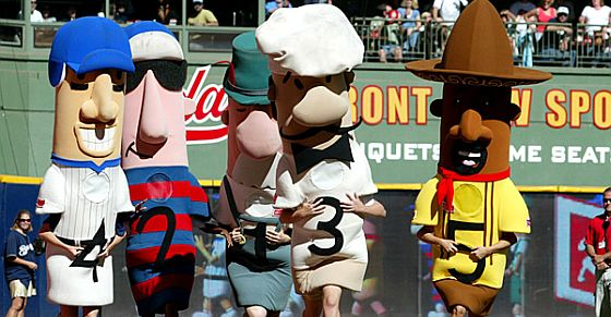 brewers racing sausage