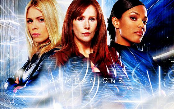 Dr Who Companions header