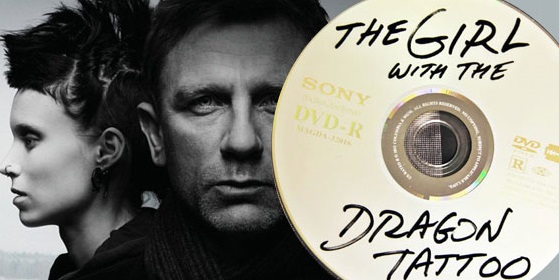 girl with the dragon tattoo dvd design