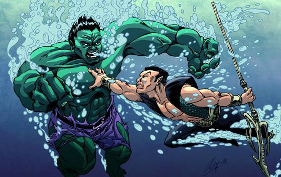 Namor vs Hulk