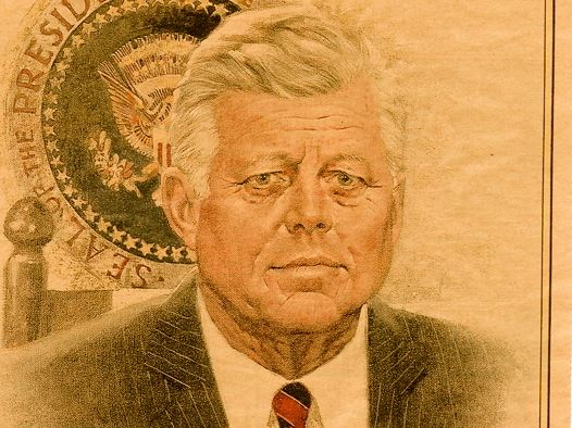 elderly john f. kennedy