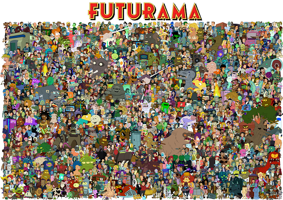 futurama Reduced
