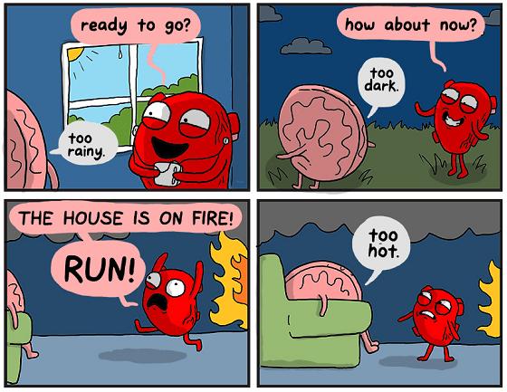 going running