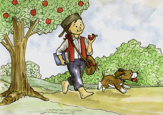 johnny appleseed in color 184195226 std