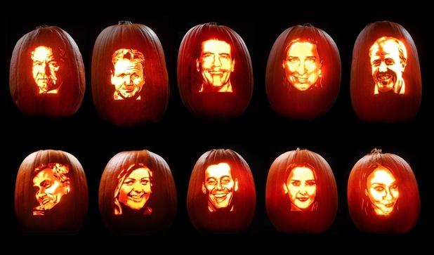 celebrity pumpkin carvings 1