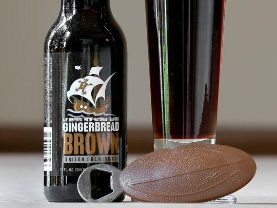 gingerbread brown beer