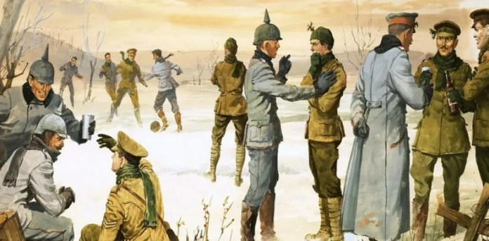 Billedresultat for christmas truce