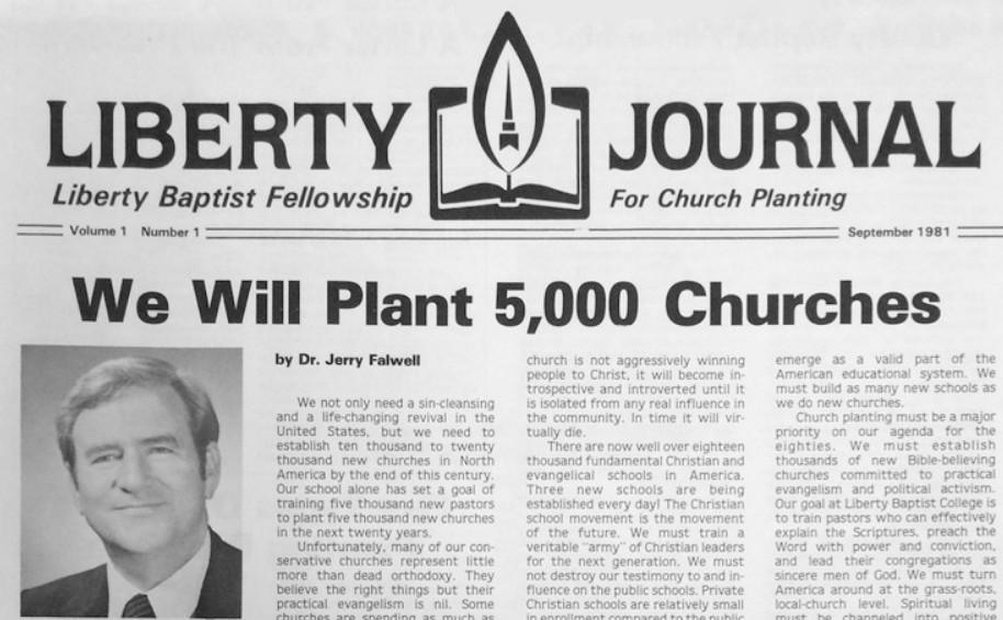 על קרן ליווי לכמרים המעוניינים להקים קהילה, קרן LBF –  The Liberty Baptist Fellowship