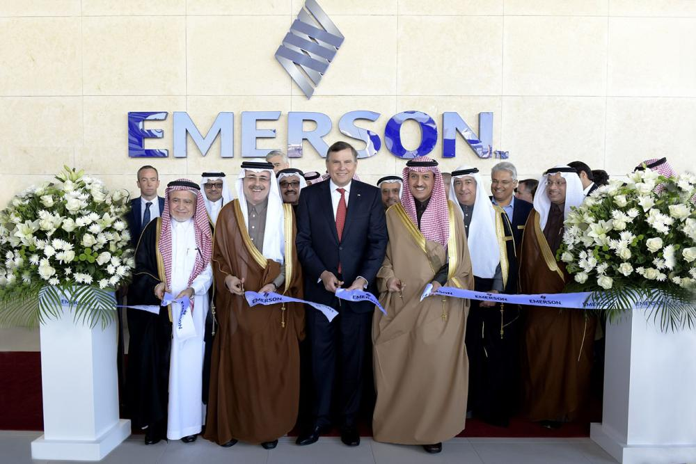 Emerson Inaugurates State-of-the-Art Center in Saudi Arabia