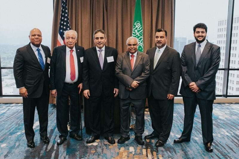 Business Council Reception Honors Saudi Delegation to OTC