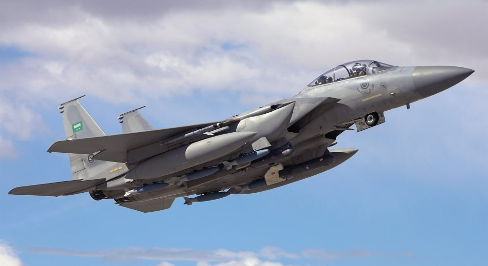 Alsalam Awarded $59.7 Million Contract to Upgrade Saudi F-15s