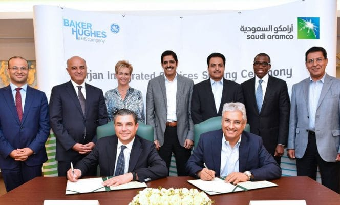 Saudi Aramco Awards Baker Hughes Marjan Oilfield Service Contract