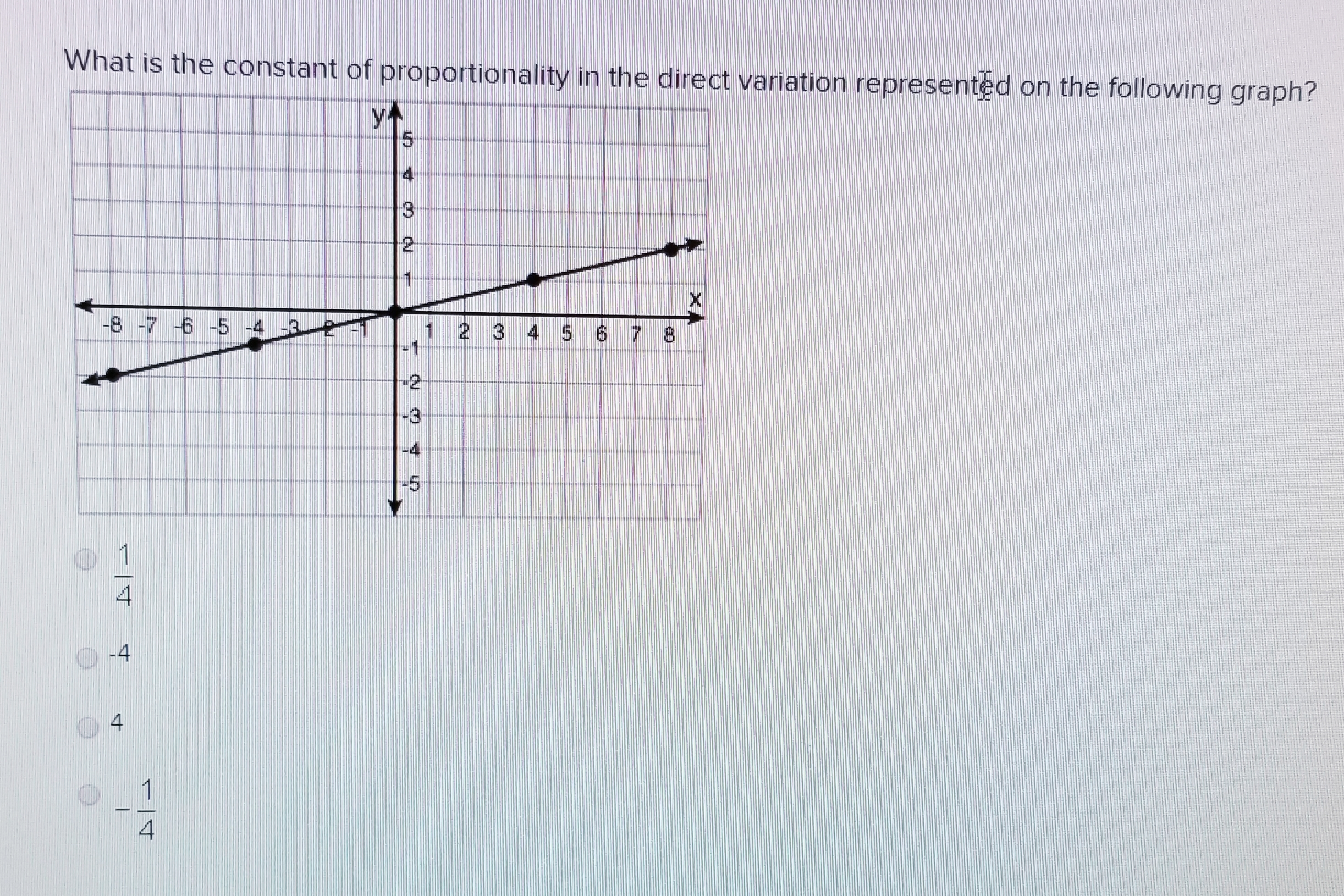 What Is The Constant Of Proportionality In The Direct
