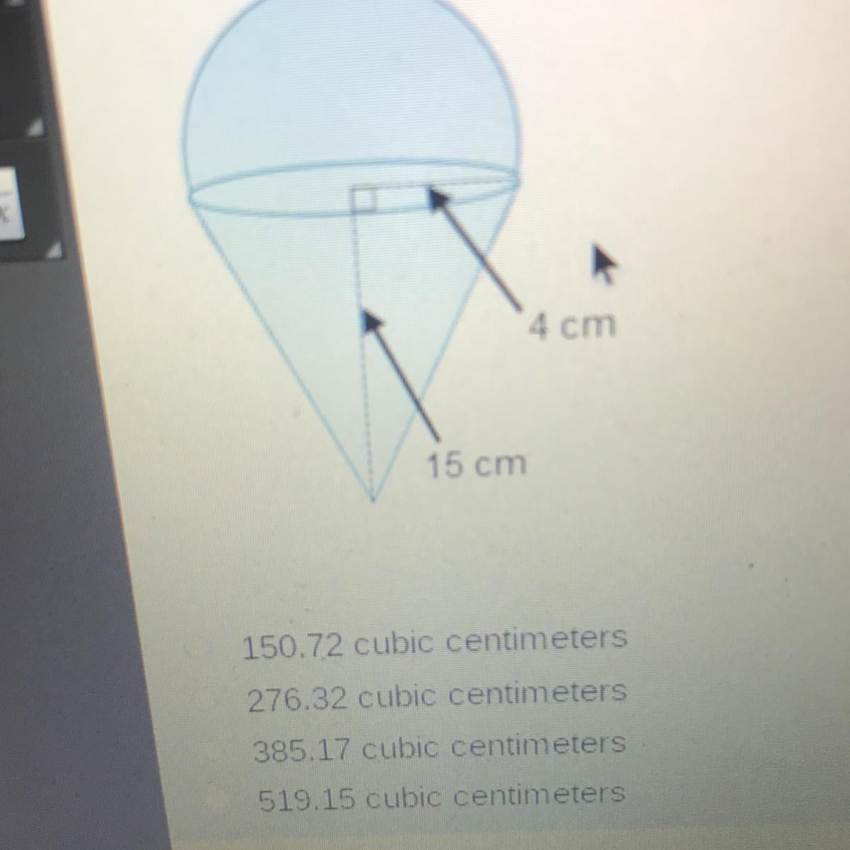 What Is The Volume Of The Composite Figure Round To The