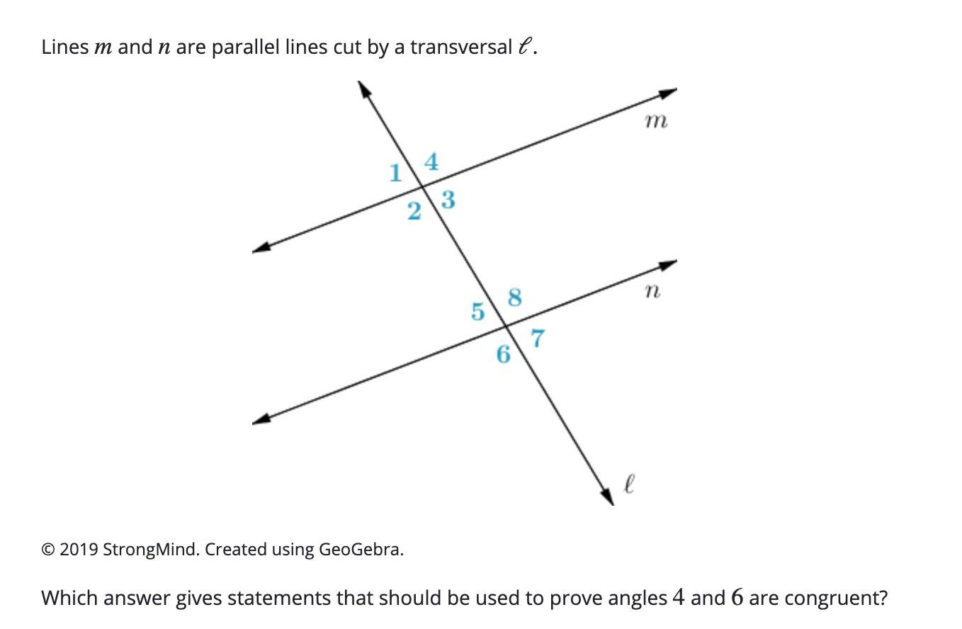 Vertical Angles Are Congruent