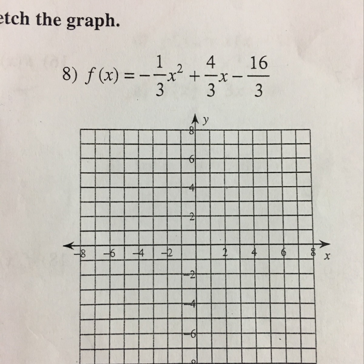How Would You Graph This Parabola It S Just Confusing