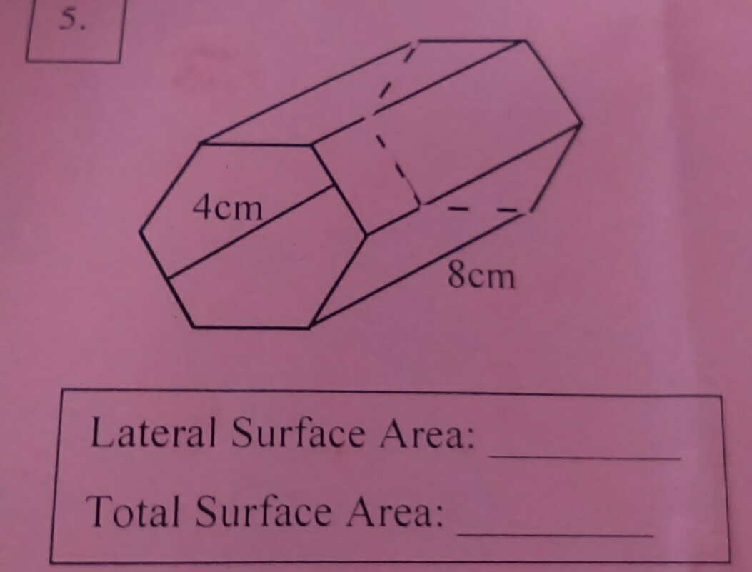 What Is The Lateral Surface Area And The Total Surface