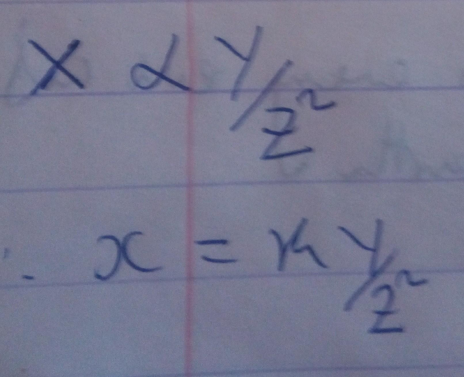 X Varies Directly With Y And Inversely With The Square Of