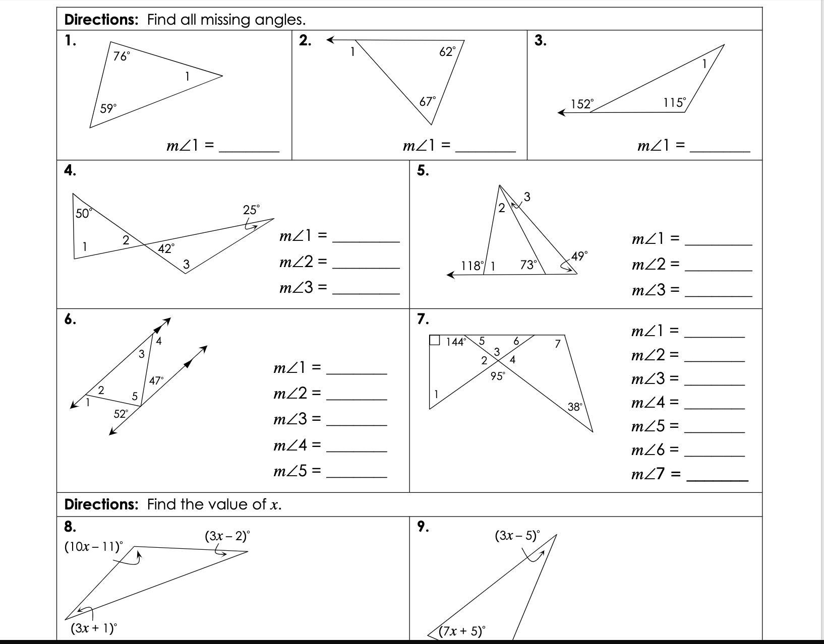 Gina Wilson All Things Algebra Unit 4 Congruent Triangles