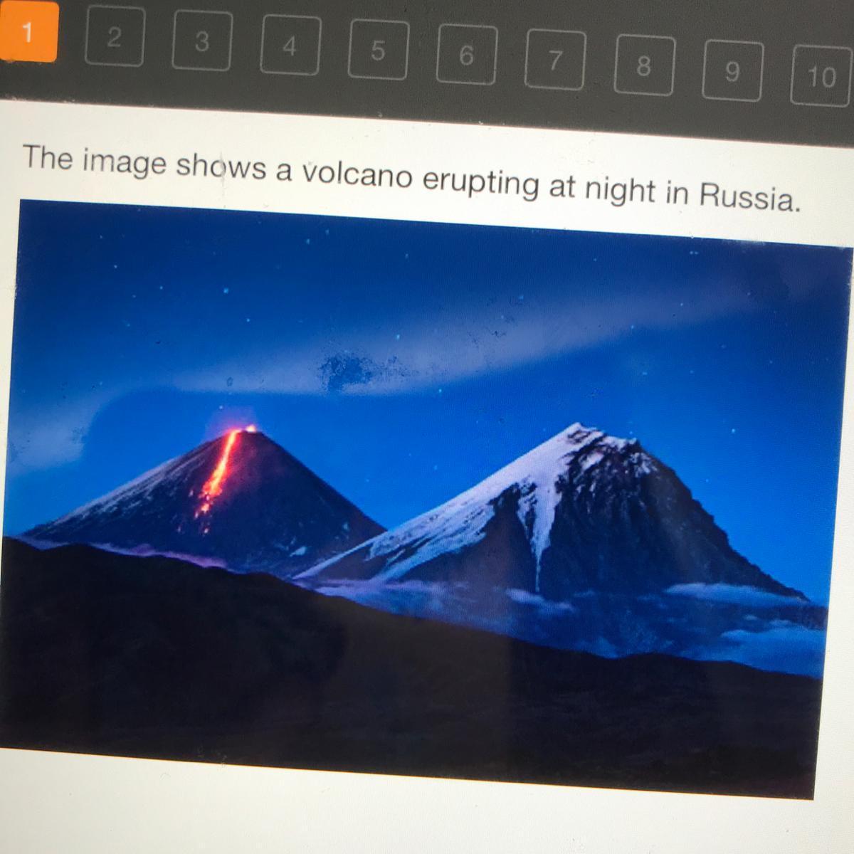 35 Volcano Label