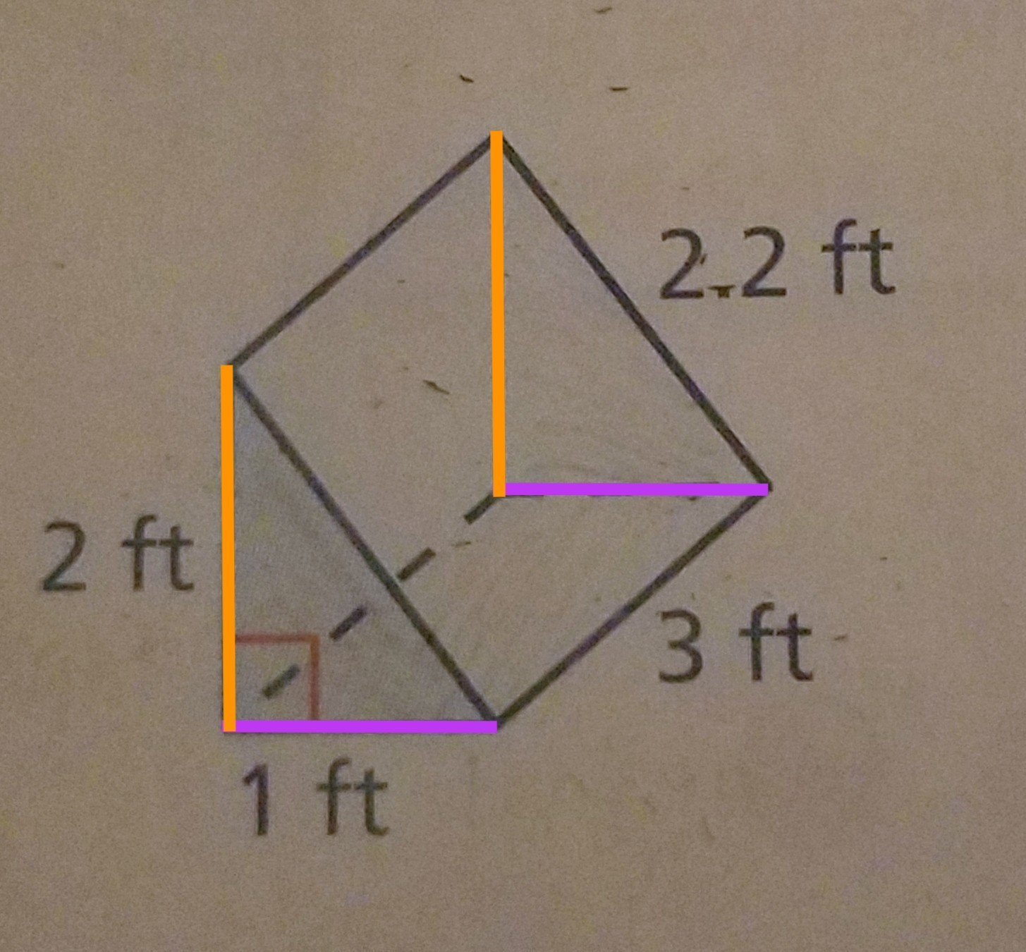 How Do You Figure Out The Surface Area Of This Triangular