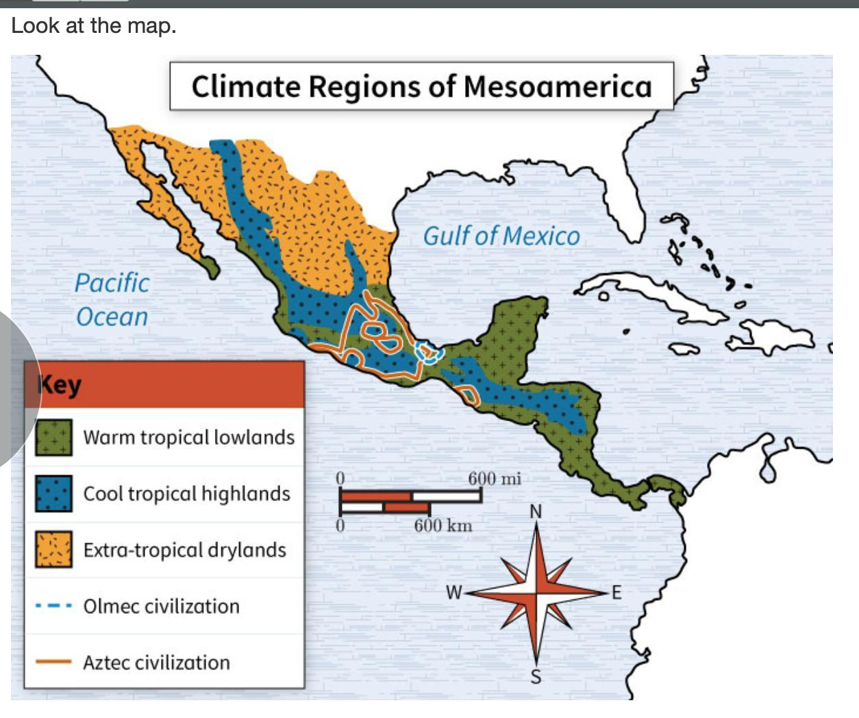 Aztecs Map
