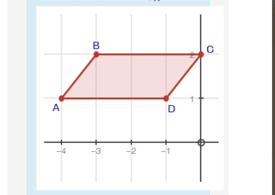 Need Help Asap If Parallelogram Abcd Was Reflected Over