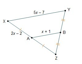 Use The Triangle Midsegment Theorem To Solve For X What