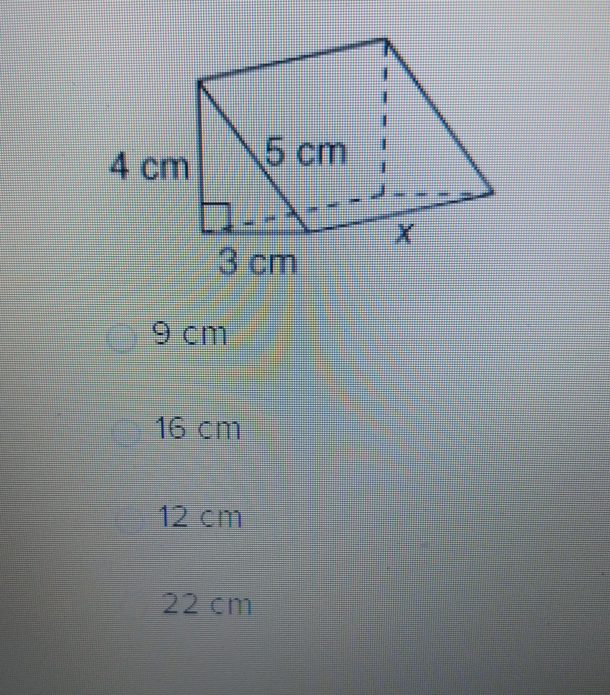 The Surface Area Of A Triangular Prism Pictured Below Is