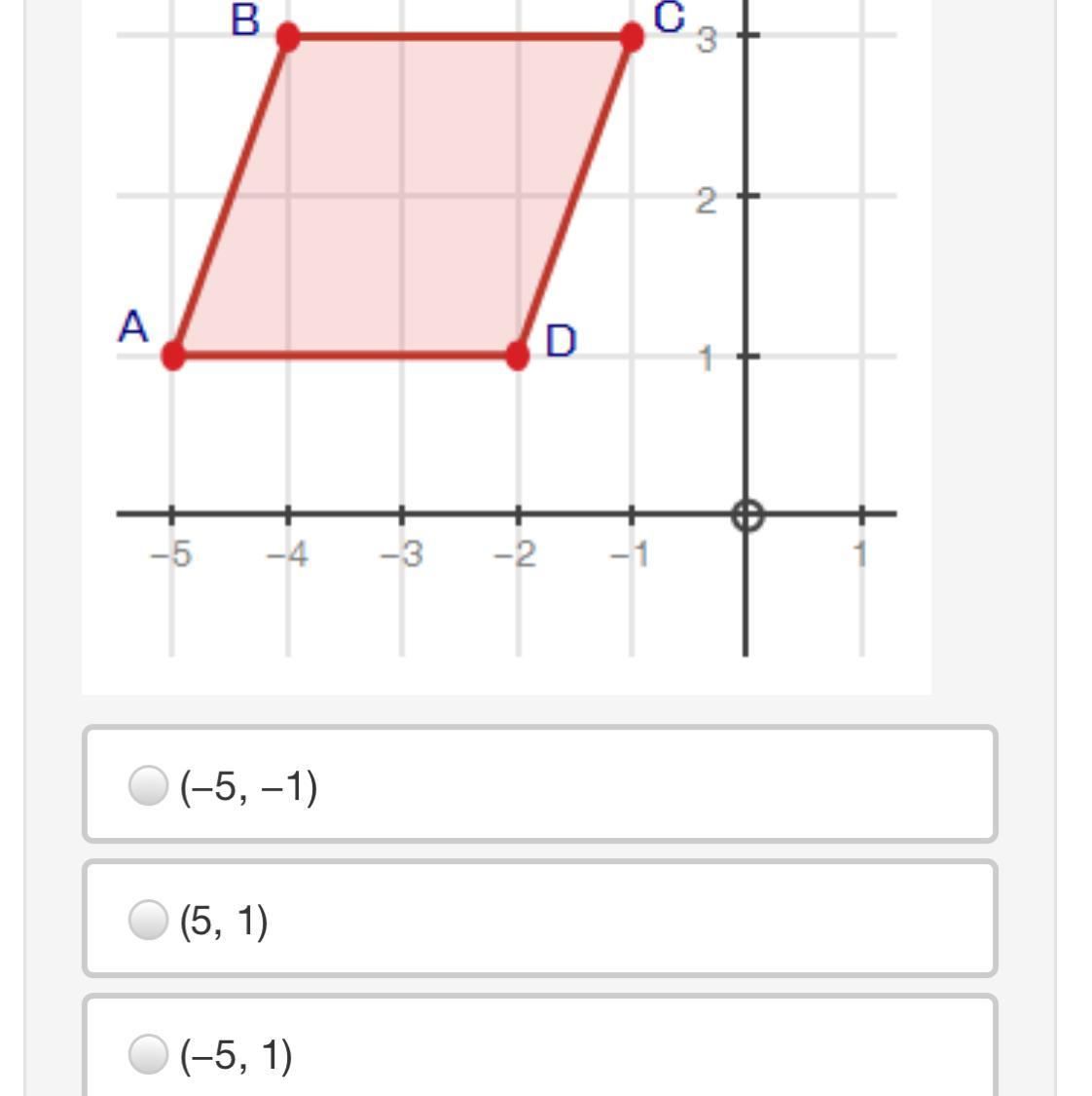 Parallelogram Abcd Is Reflected Over The Y Axis Followed
