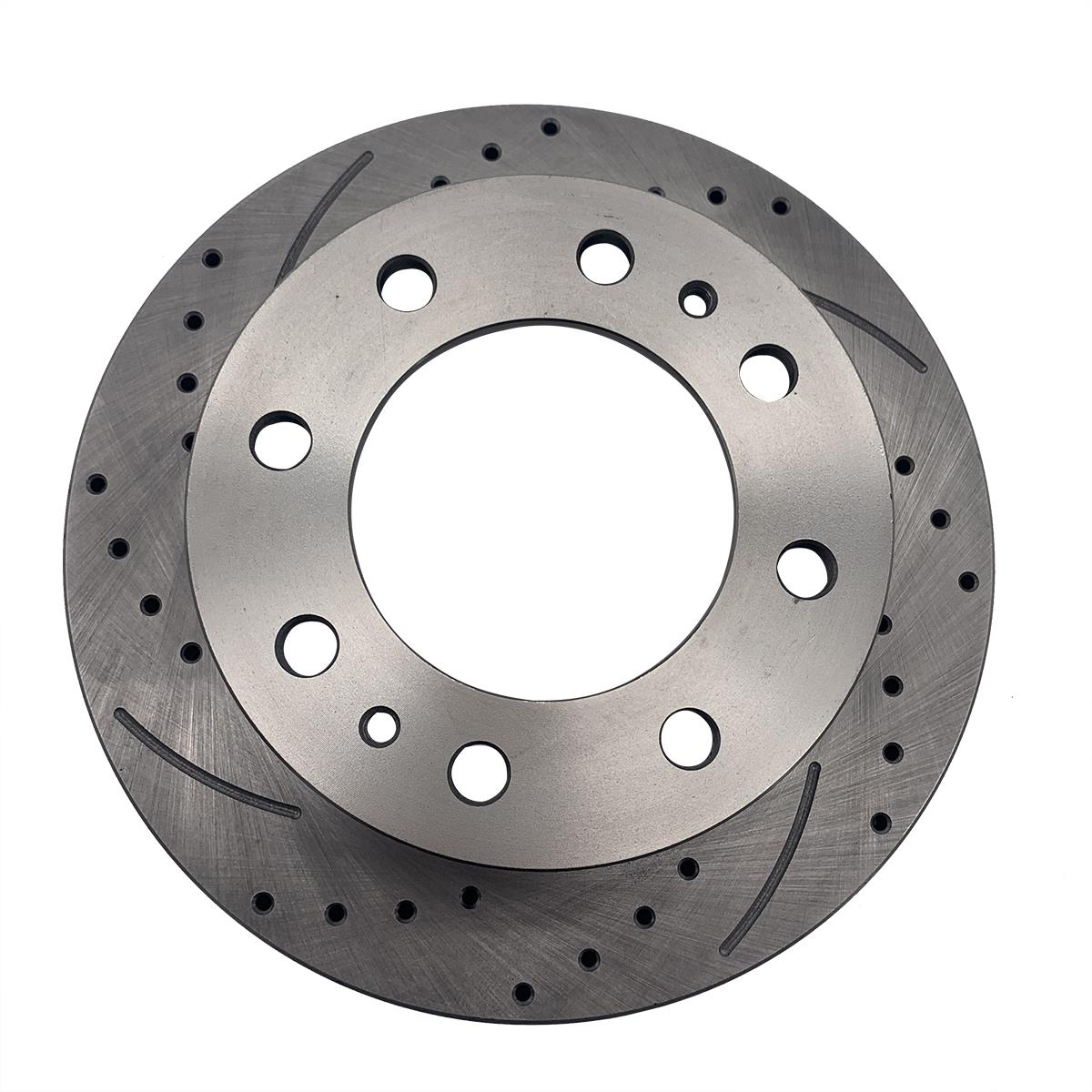 Front Rear Brake Rotors For Chevy Silverado Avalanch