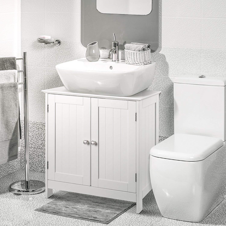 details about 23 bathroom vanity cabinet sink storage organizer