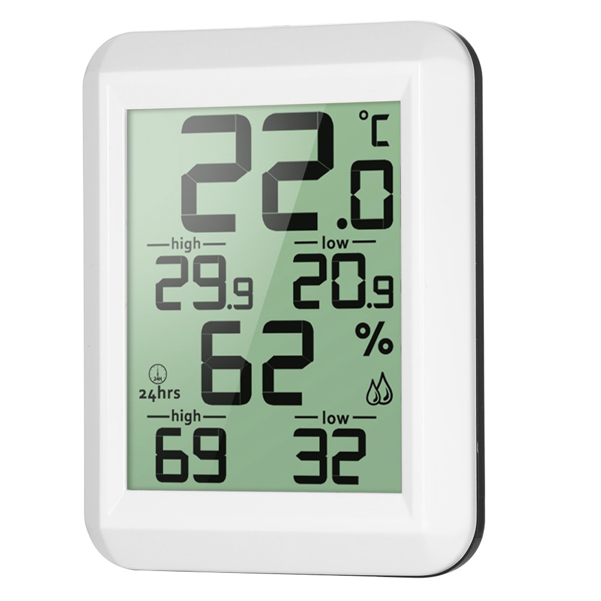 Digital Desktop Wireless Indoor Outdoor Hygrometer