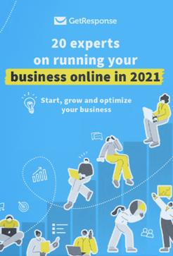 Livre électronique gratuit: 20 experts sur la gestion de votre entreprise en ligne en 2021.