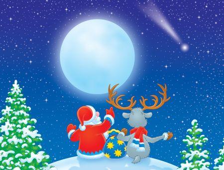 Christmas star Stock Photo - 3717461
